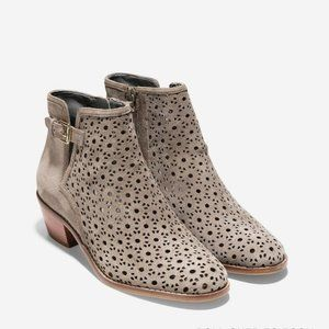 Cole Haan Willette Perforated Bootie Size 7